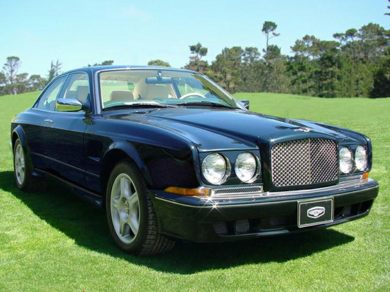 3/4 Front Glamour 2003 Bentley Continental