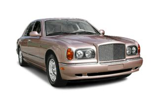 3/4 Front Glamour 2001 Bentley Arnage