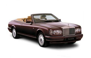 3/4 Front Glamour 2001 Rolls-Royce Corniche