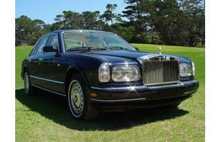 3/4 Front Glamour 2002 Rolls-Royce Silver Seraph