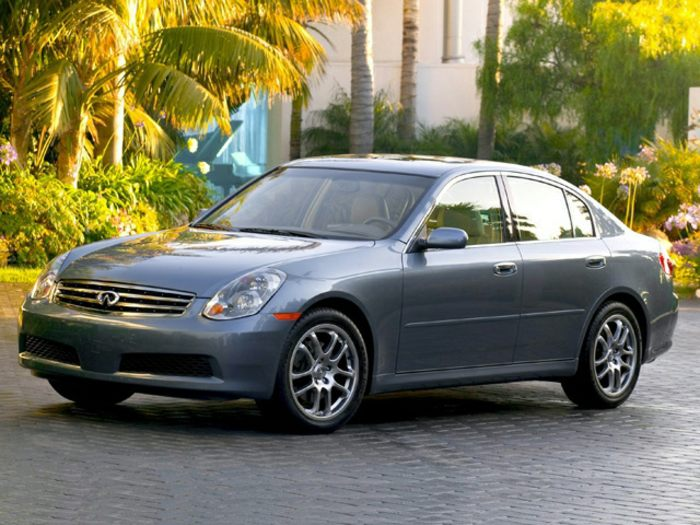 2006 infiniti g35x specs safety rating mpg carsdirect. Black Bedroom Furniture Sets. Home Design Ideas
