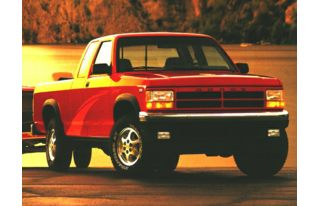 3/4 Front Glamour 1996 Dodge Dakota
