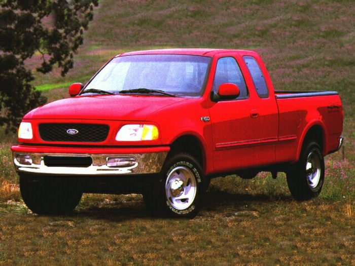 1997 ford f 150 specs safety rating mpg carsdirect. Black Bedroom Furniture Sets. Home Design Ideas