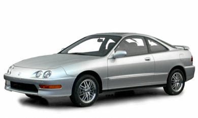 3/4 Front Glamour 2000 Acura Integra