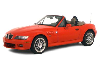 3/4 Front Glamour 2000 BMW Z3