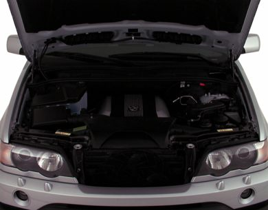 Engine Bay  2000 BMW X5