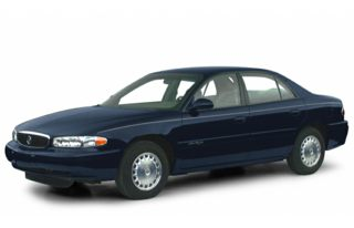 3/4 Front Glamour 2000 Buick Century