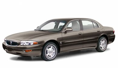3/4 Front Glamour 2000 Buick LeSabre