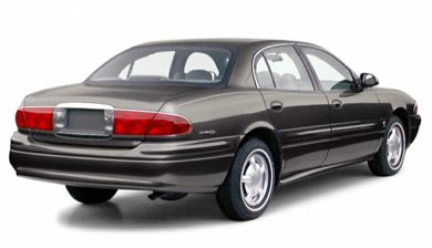 3/4 Rear Glamour  2000 Buick LeSabre
