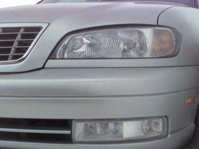 Headlamp  2000 Cadillac Catera