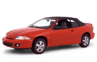 3/4 Front Glamour 2000 Chevrolet Cavalier