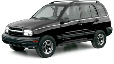 3/4 Front Glamour 2000 Chevrolet Tracker