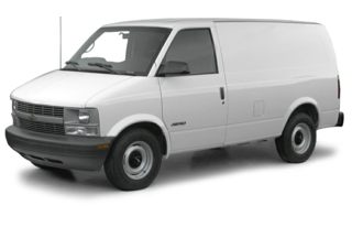 3/4 Front Glamour 2000 Chevrolet Astro
