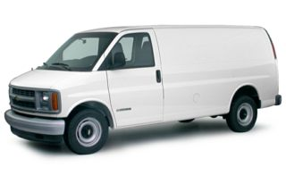 3/4 Front Glamour 2000 Chevrolet Express