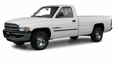 3/4 Front Glamour 2000 Dodge Ram 1500