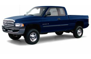 3/4 Front Glamour 2000 Dodge Ram 2500