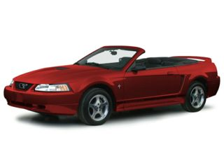 3/4 Front Glamour 2000 Ford Mustang