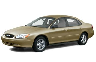 3/4 Front Glamour 2000 Ford Taurus