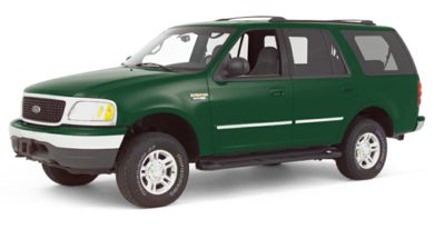 3/4 Front Glamour 2000 Ford Expedition