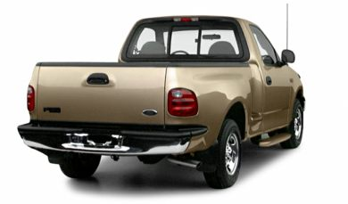 3/4 Rear Glamour  2000 Ford F-150