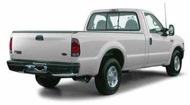 3/4 Rear Glamour  2000 Ford F-250