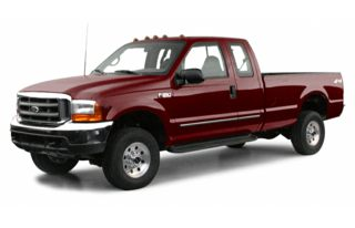 3/4 Front Glamour 2000 Ford F-350