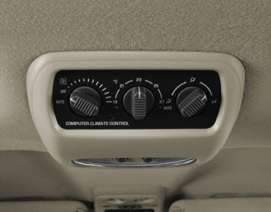 Rear Climate Controls or Rear A/C Outlets 2000 GMC Yukon