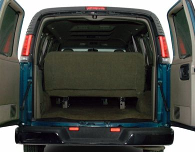 Trunk/Cargo Area/Pickup Box 2000 GMC Savana