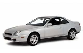 3/4 Front Glamour 2000 Honda Prelude