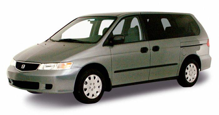 2000 honda odyssey specs safety rating mpg carsdirect for Honda odyssey height