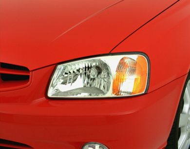 Headlamp  2000 Hyundai Accent