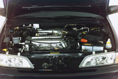 Engine Bay  2000 INFINITI G20