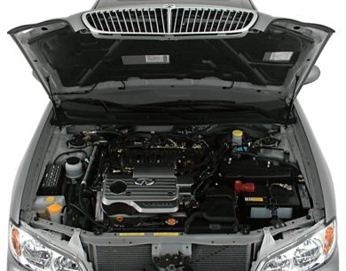 Engine Bay  2000 Infiniti I30