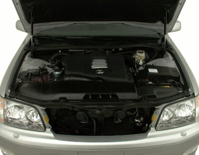 Engine Bay  2000 Lexus LS 400