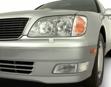 Headlamp  2000 Lexus LS 400