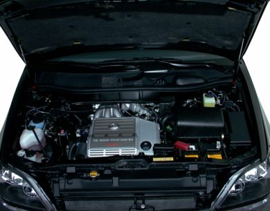 Engine Bay  2000 Lexus RX 300