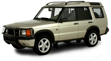 3/4 Front Glamour 2000 Land Rover Discovery