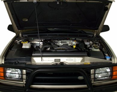 Engine Bay  2000 Land Rover Discovery