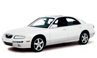 3/4 Front Glamour 2000 Mazda Millenia