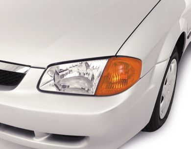 Headlamp  2000 Mazda Protege