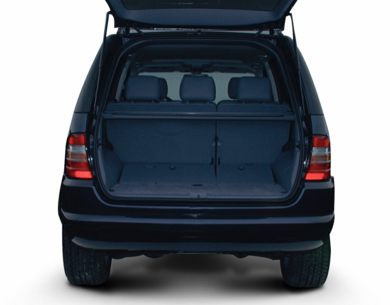 Trunk/Cargo Area/Pickup Box 2000 Mercedes-Benz ML430