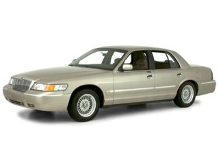 3/4 Front Glamour 2000 Mercury Grand Marquis