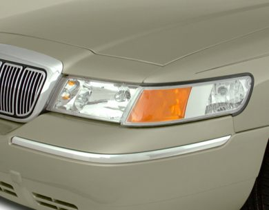 Headlamp  2000 Mercury Grand Marquis