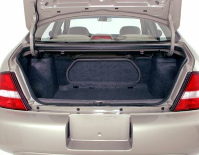 Trunk/Cargo Area/Pickup Box 2000 Nissan Altima