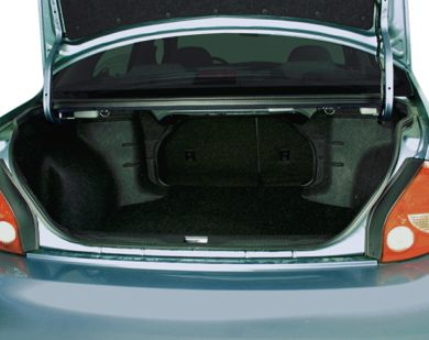 Trunk/Cargo Area/Pickup Box 2000 Nissan Maxima