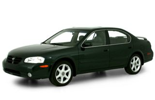 3/4 Front Glamour 2000 Nissan Maxima