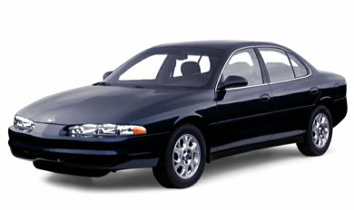 3/4 Front Glamour 2000 Oldsmobile Intrigue