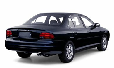 3/4 Rear Glamour  2000 Oldsmobile Intrigue