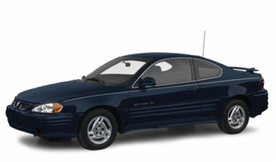 3/4 Front Glamour 2000 Pontiac Grand Am