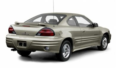 3/4 Rear Glamour  2000 Pontiac Grand Am